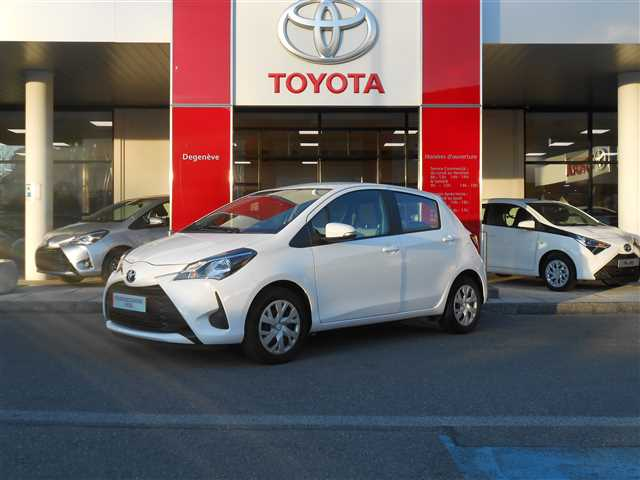 Toyota Yaris III MC2 110 VVT-i France