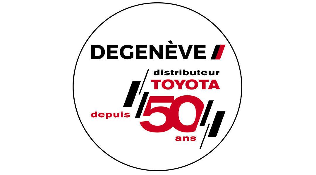 1971-2021 Le groupe Degenève fête ses 50 ans de distribution TOYOTA